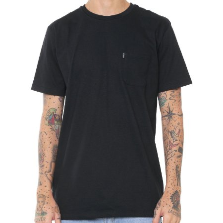 Camiseta Element Minimal Pocket Preta