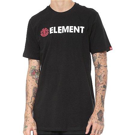 Camiseta Element Blazin Preta