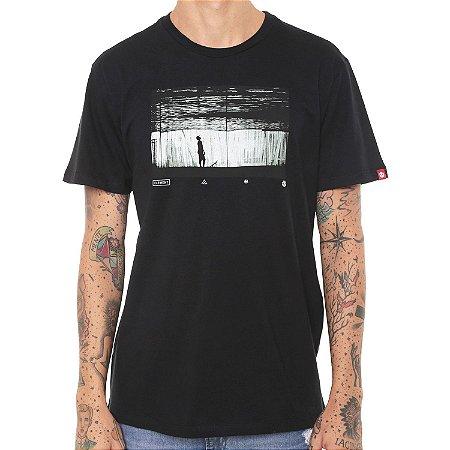 Camiseta Element Liquid Preta