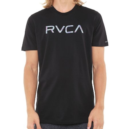 Camiseta RVCA MC Floral Preta