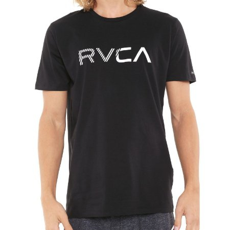 Camiseta RVCA Blinded Preta