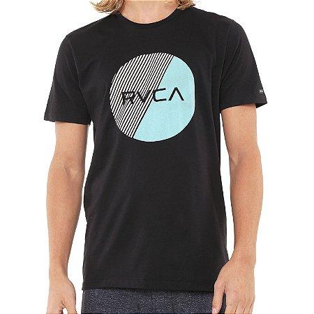 Camiseta RVCA Motors Fill Preta