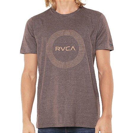 Camiseta RVCA Compass Marrom