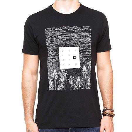 Camiseta Hang Loose Silk Landscape Preta