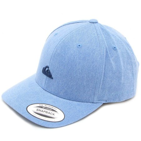 Boné Quiksilver Washing Baseball Azul