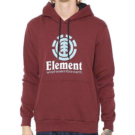 Moletom Element Vertical Vinho