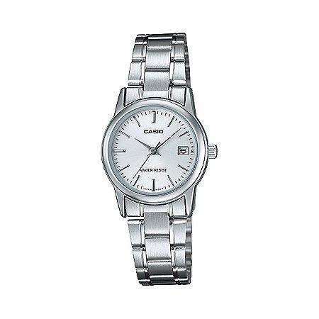 Relógio Casio LTP-V002D-7AUDF Prata