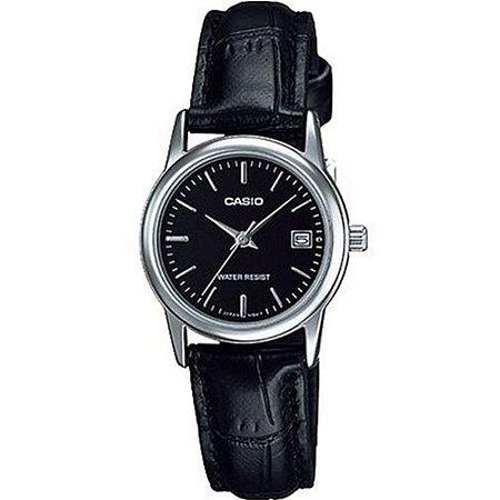 Relógio Casio LTP-V002L-1AUDF Preto