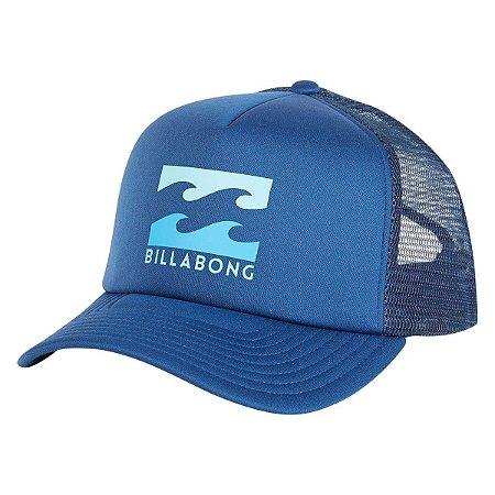 Boné Billabong Podium Trucker Azul/Azul