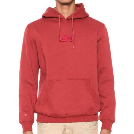 Moletom New Era Essentials Fleece Vermelho