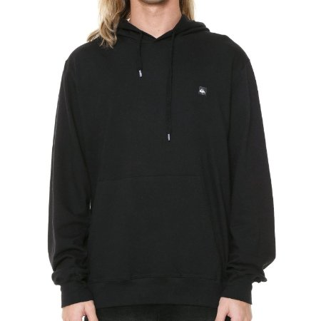 Moletom Quiksilver Light Fleece Hood Preto