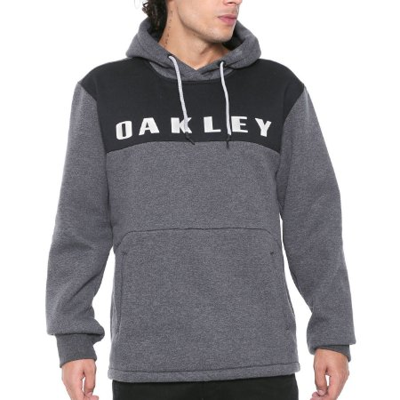 Moletom Oakley Crossrange Pullover Cinza Escuro