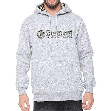 Moletom Element Plumber I Cinza