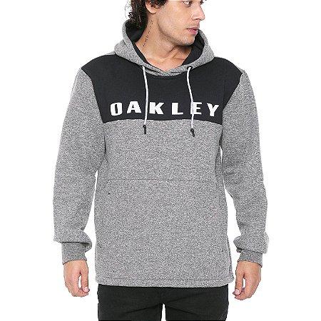 Moletom Oakley Crossrange Pullover Cinza Claro