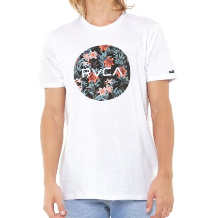 Camiseta RVCA Motor II Branca