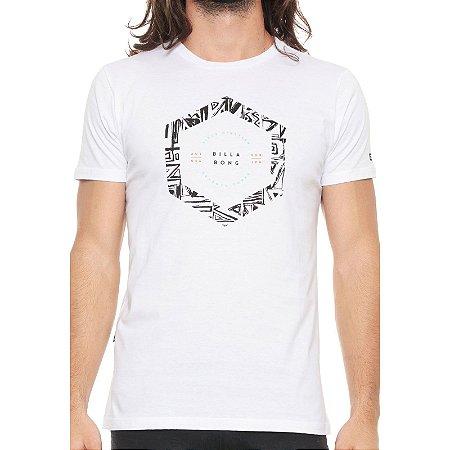Camiseta Billabong Access Border Branca