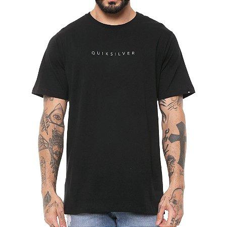 Camiseta Quiksilver Basic Embroidery Preta