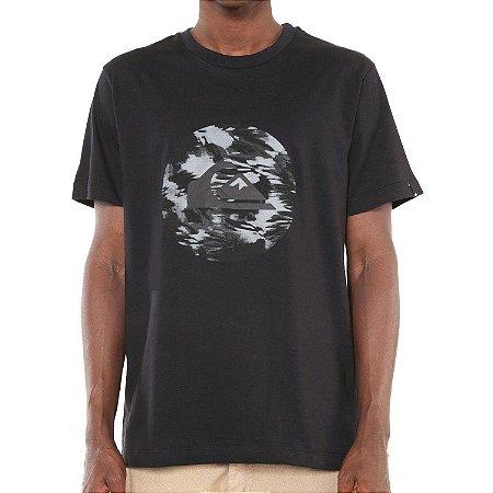Camiseta Quiksilver Quick Circled Preta