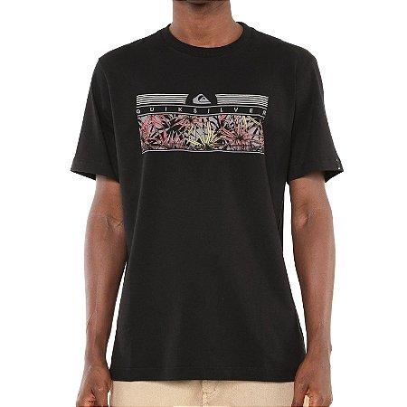 Camiseta Quiksilver The Jungle Preta