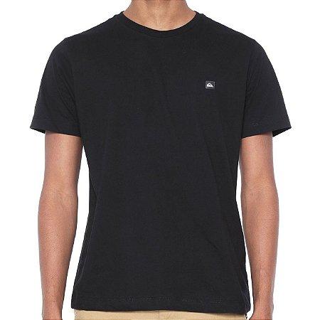 Camiseta Quiksilver Slim Transfer Preta