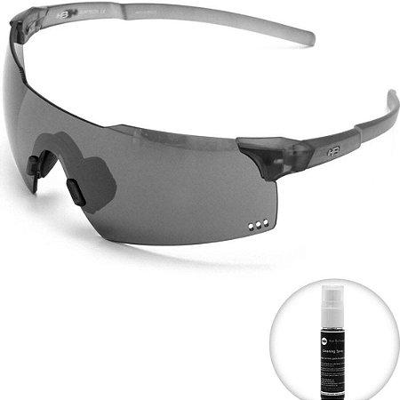 Óculos de Sol HB Quad V Matte Onyx l Silver