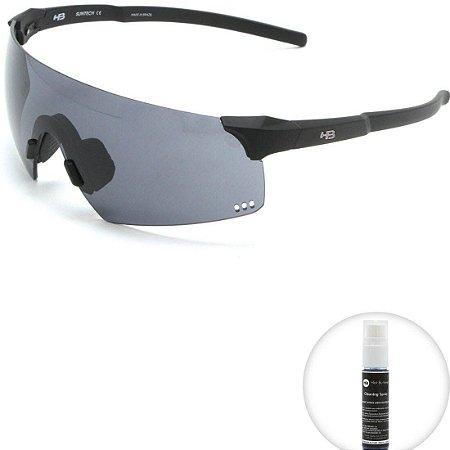 Óculos de Sol HB Quad R Matte Black l Gray