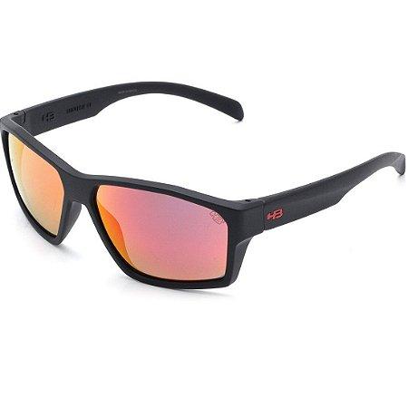 Óculos de Sol HB Stab Matte Black I Red Chrome