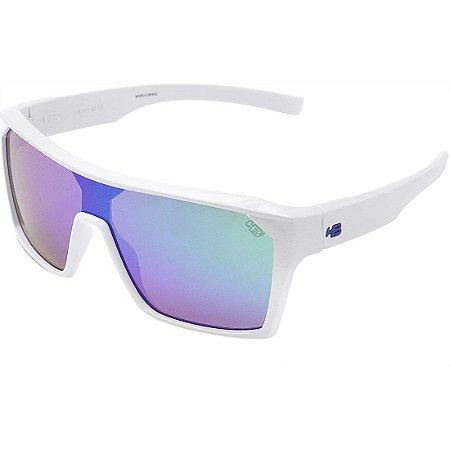 Óculos de Sol HB Carvin 2.0 Pearled White I Multi Green