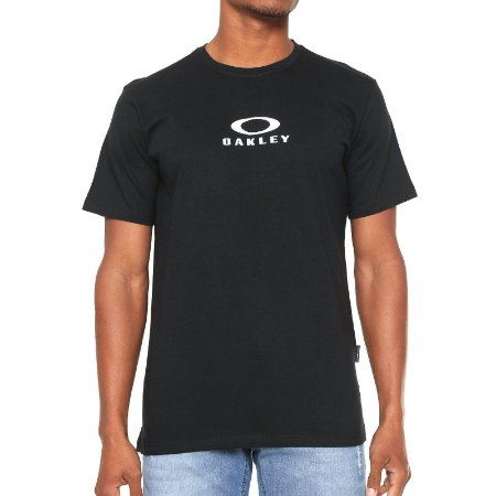 Camiseta Oakley Bark New Preta