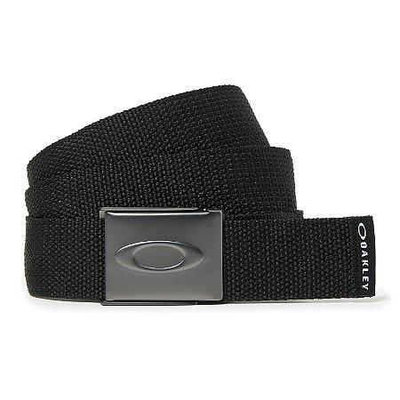 Cinto Oakley Ellipse Web Belt Preto