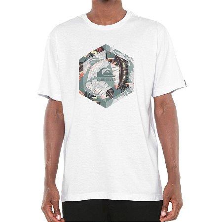 Camiseta Quiksilver Heat Stroke Branca