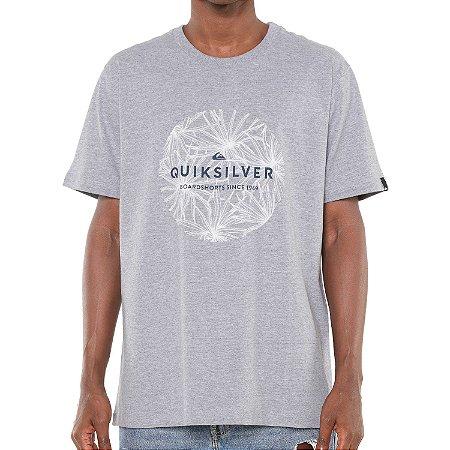 Camiseta Quiksilver Classic Bob Cinza
