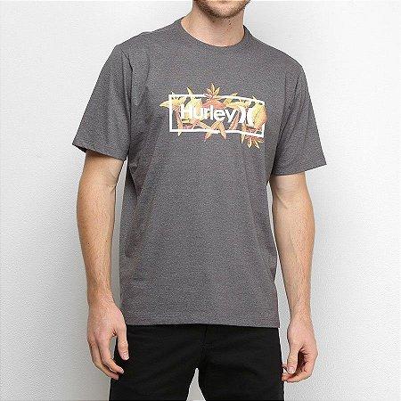 Camiseta Hurley Silk Brotanical Cinza