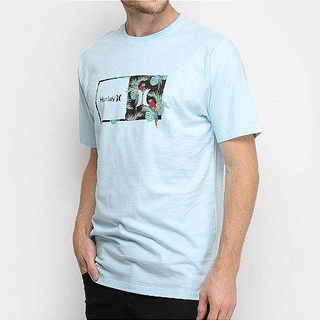 Camiseta Hurley Silk Sierra Azul Claro