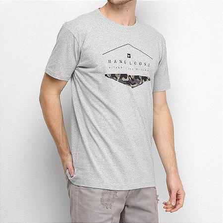 Camiseta Hang Loose Silk Camo Cinza