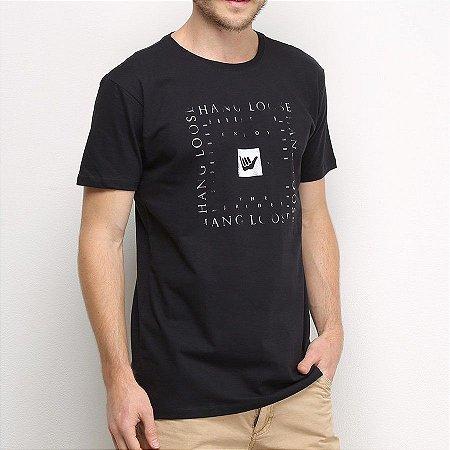 Camiseta Hang Loose Silk Otic Preta