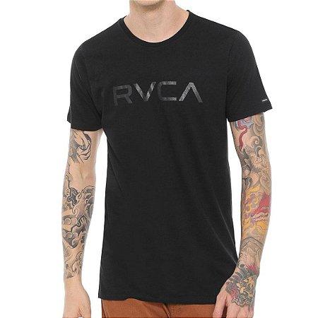 Camiseta RVCA Big RVCA II Preta