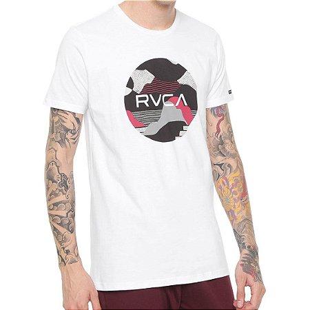 Camiseta RVCA Outlook Trunk Branca