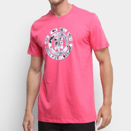 Camiseta Element Multi Icon Rosa