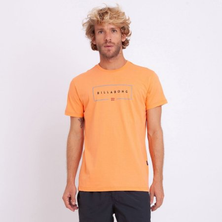 Camiseta Billabong Union Laranja