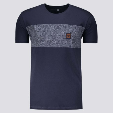 Camiseta Hang Loose Silk Cave Azul Marinho