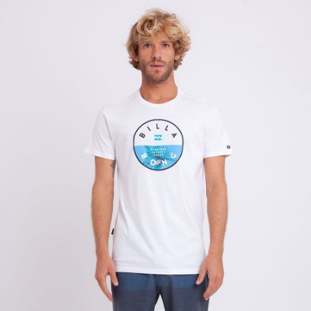 Camiseta Billabong Rotor Summer Cloud Off White