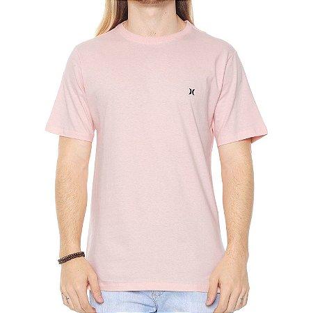 Camiseta Hurley Silk Icon Rosa