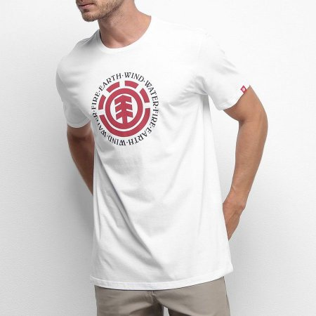Camiseta Element Seal Branca
