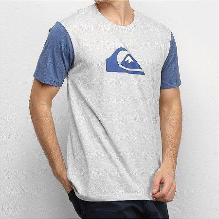 Camiseta Quiksilver MW Bicolor Off White