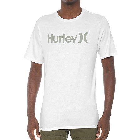Camiseta Hurley Silk O&O Solid Branca