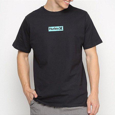 Camiseta Hurley Silk O&O Small Preta