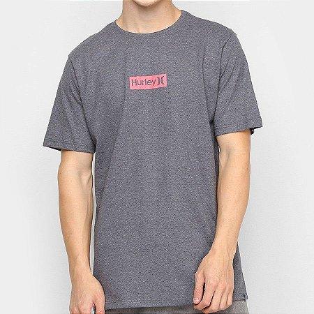Camiseta Hurley Silk O&O Small Cinza