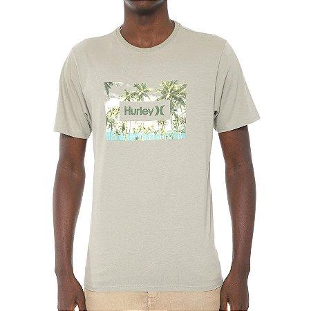 Camiseta Hurley Silk Boarders Verde Claro