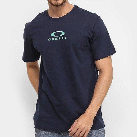 Camiseta Oakley Bark New Azul Marinho